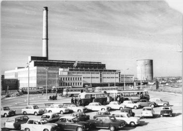 Chemiefaserwerk Guben, Parkplatz, Kraftwerk