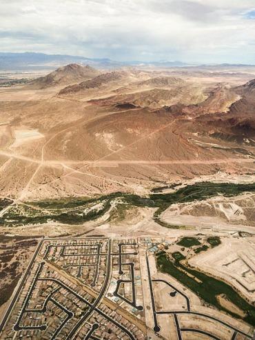 The edge of Henderson, Nevada
