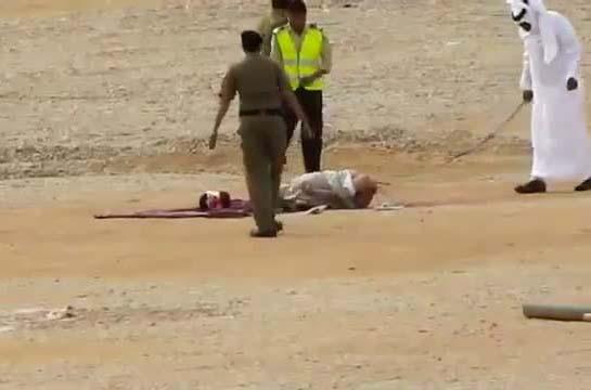 The Saudis still use the barbarian policies of Muhammad.