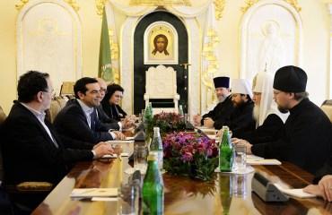 00 Patriarch kirill. Alexis Tsipras. moscow 03. 10.04.15