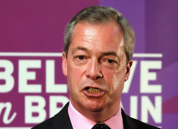 United Kingdom do not have a fair electorate system,  giving the UKIP only one seat.