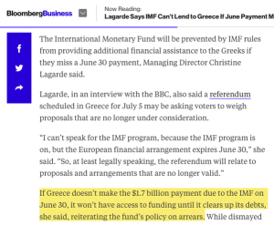 IMF GREECE