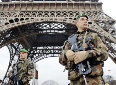 You do not stop the Islamic invation of Europe by posting some toy soliders in Paris.