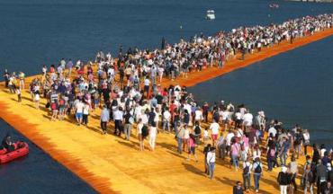 Floating Piers at Lake Iseo